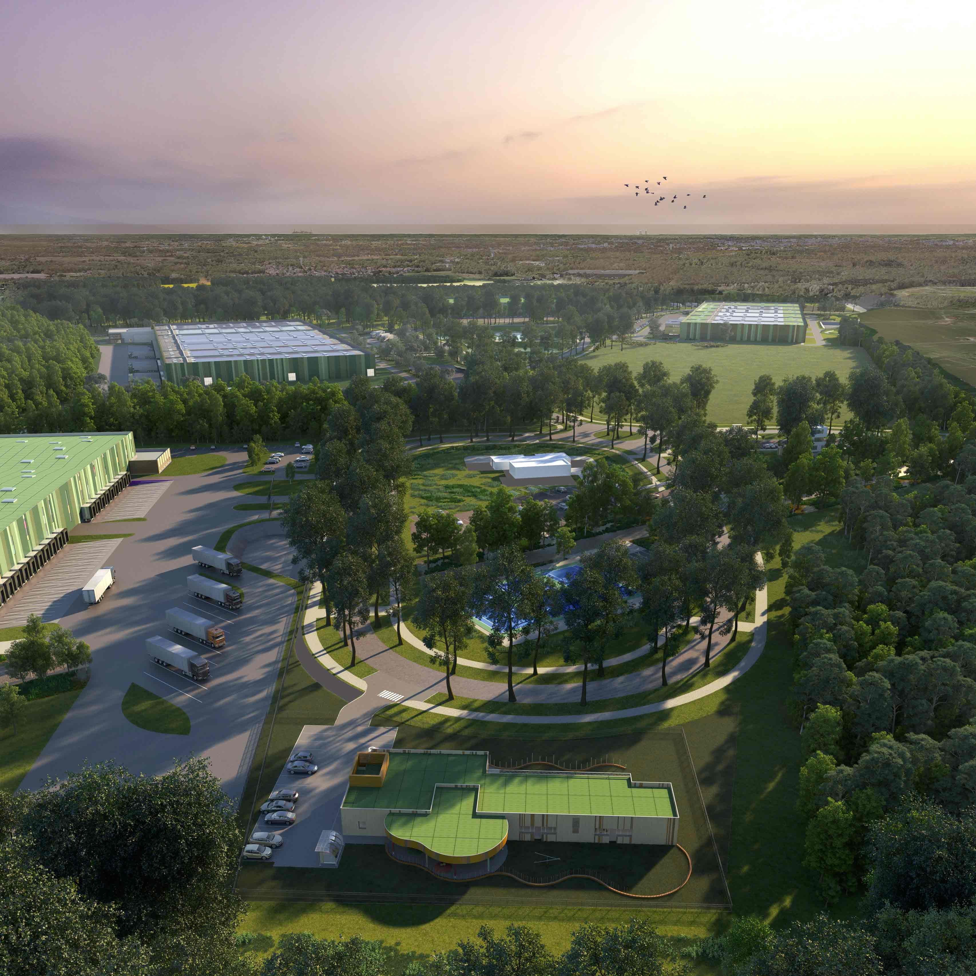 AREFIM annonce la signature d'un centre logistique sur Cosmetic Park® Orléans