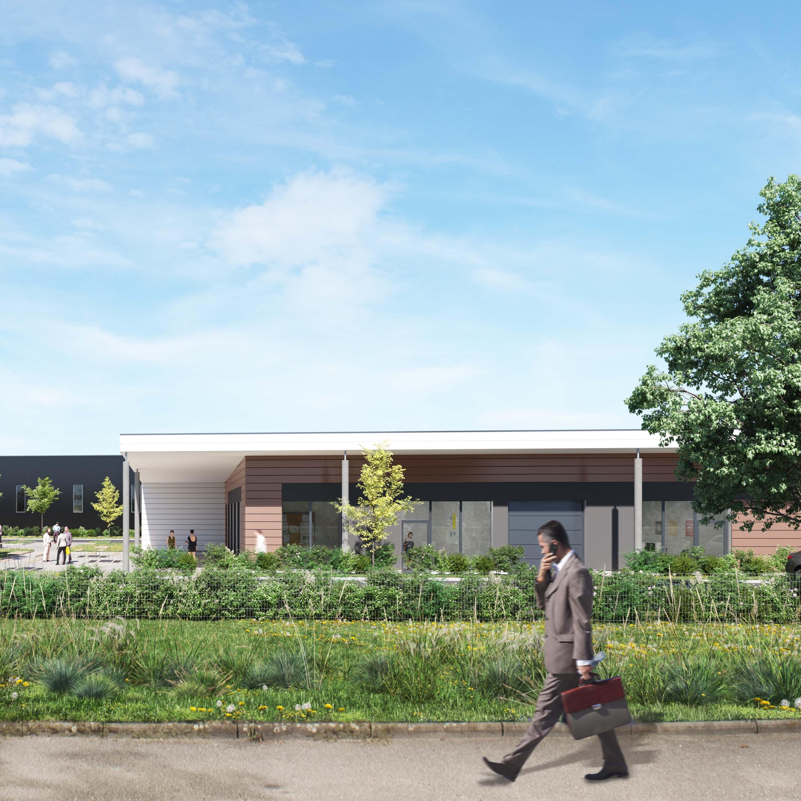 Un parc d'activité dédié aux PME sort de terre à Ostwald