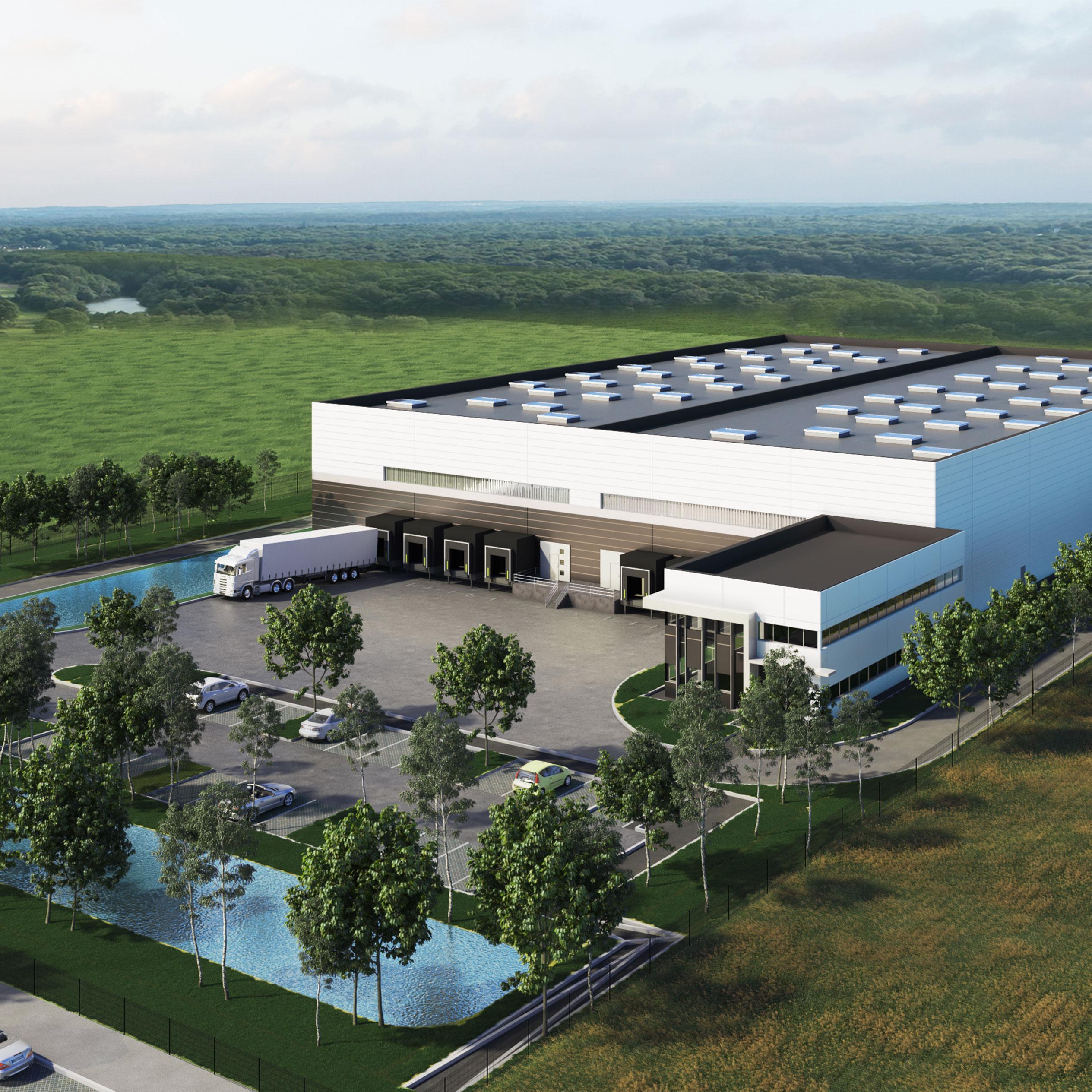 Nouveau site pour Menicon Pharma signé Arefim GE au sud de Strasbourg